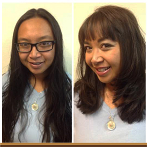 Moxie Salon Before & After